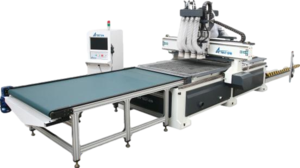 CNC Router - Automatic feeding